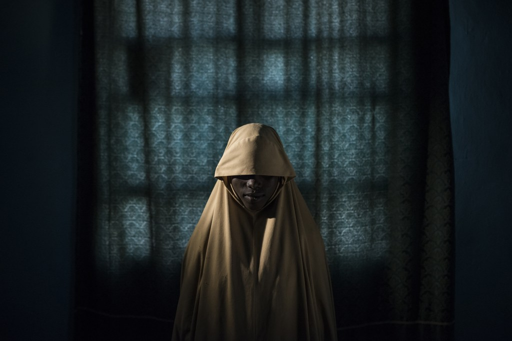 Boko Haram Strapped Suicide Bombs to Them. Somehow These Teenage Girls Survived. © Adam Ferguson, for The New York Times - World Press Photo 2018