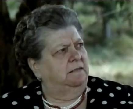Sora Lella (Elena Fabrizi) in Bianco, rosso e Verdone (1981) David di Donatello per la migliore attrice non protagonista 1984