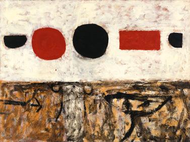 Adolph Gottlieb mostra Pollock