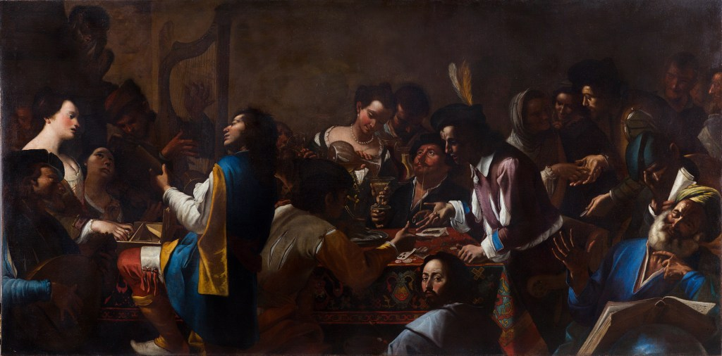 Mattia Gregorio Preti mostra Barberini