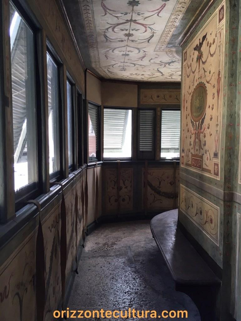 Balconcino Madama Letizia Palazzo Bonaparte, ph. Orizzonte Cultura