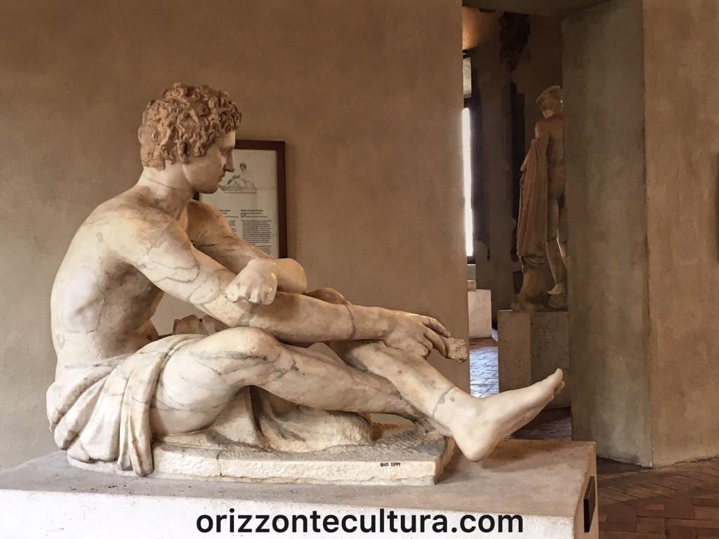 Guerriero seduto, Palazzo Altemps