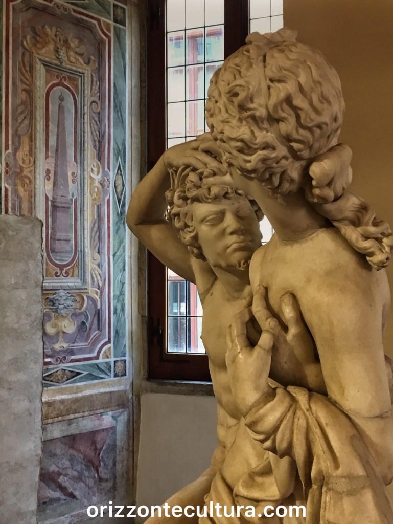 Satiro e Ninfa, Palazzo Altemps