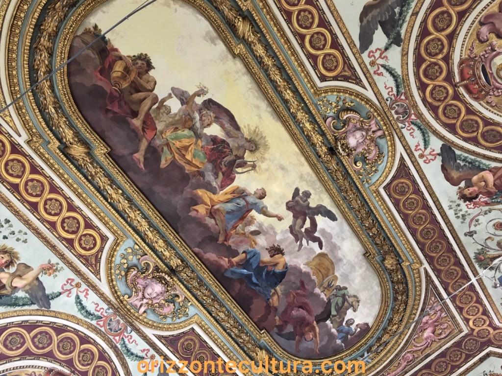 Soffitto sala Palazzo Bonaparte Roma