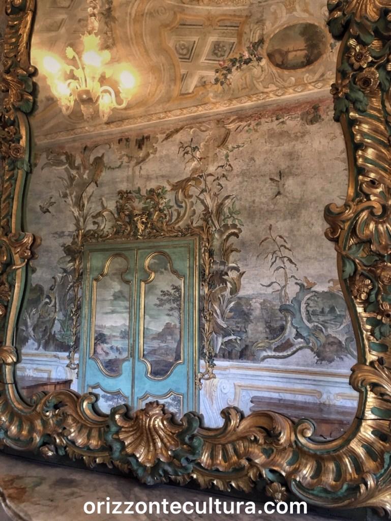 Appartemento Settecento COstanza Barberini, dettaglio