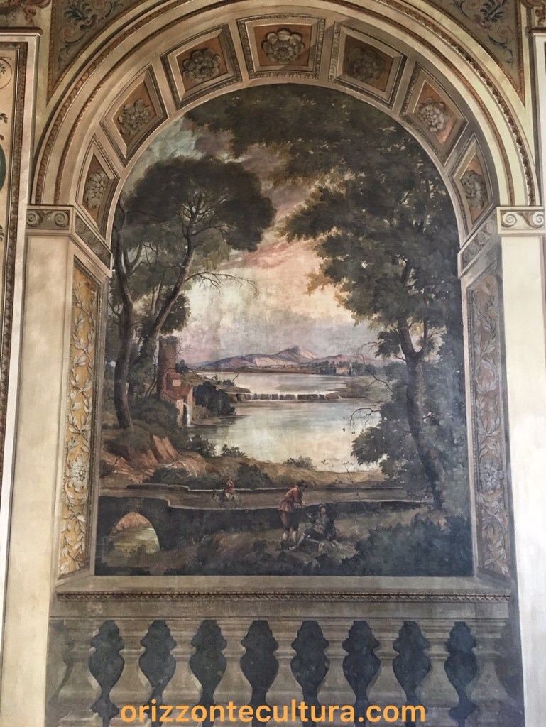 Trompe d'oeil Palazzo Bonaparte, ph. Orizzonte Cultura