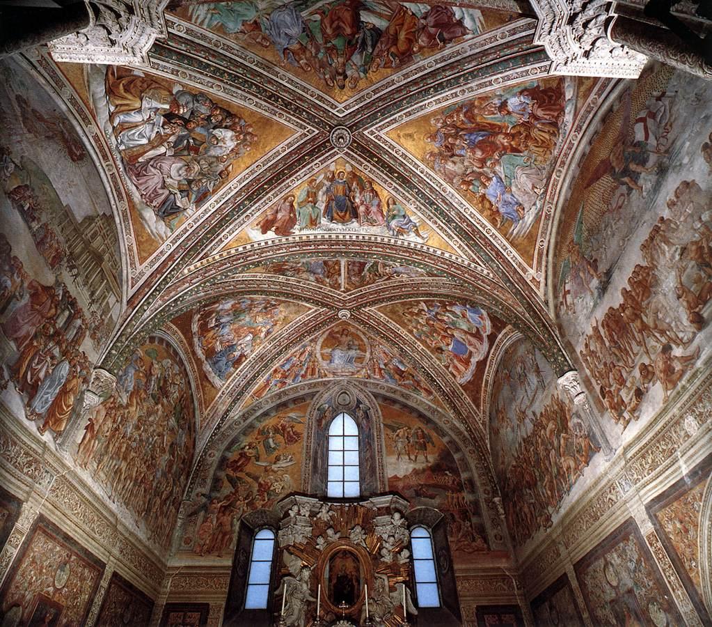 Luca Signorelli, Cappella di San Brizio, Orvieto