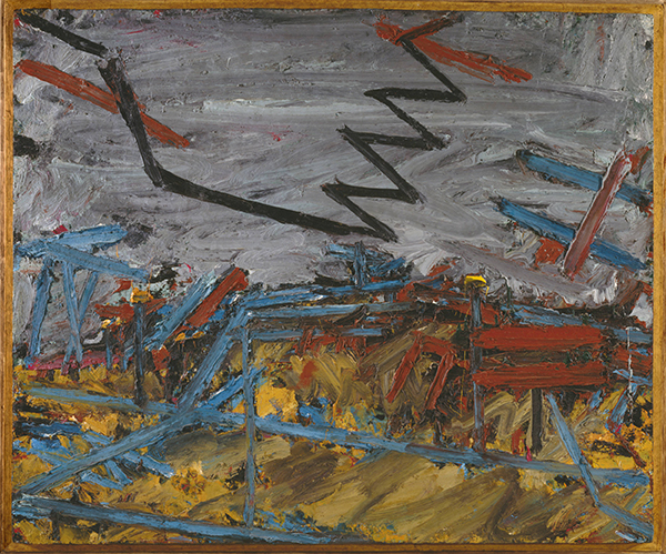 Frank Auerbach, Primrose Hill