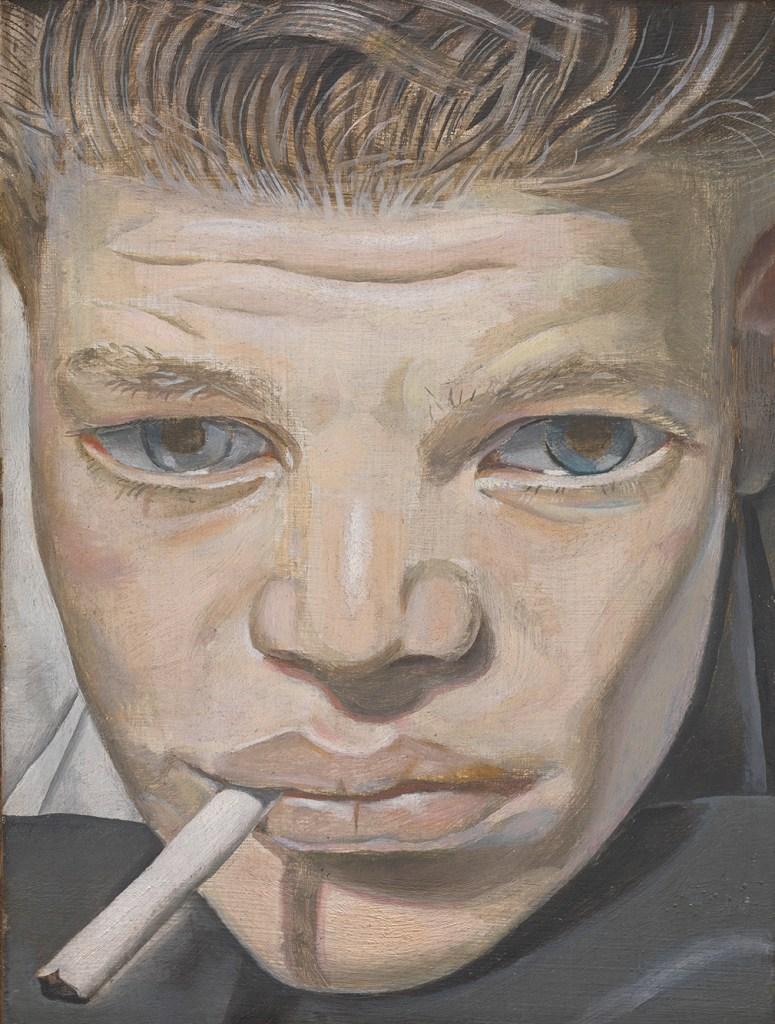 Freud, Boy Smoking, Bacon Freud Chiostro del Bramante