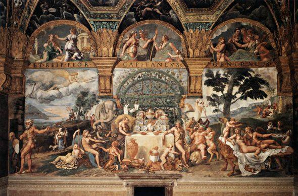 Giulio Romano, Amore e Psiche