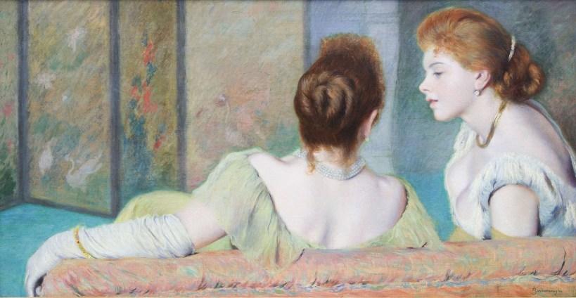 Sul Divano, Zandomeneghi, Impressionisti Segreti mostra Palazzo Bonaparte