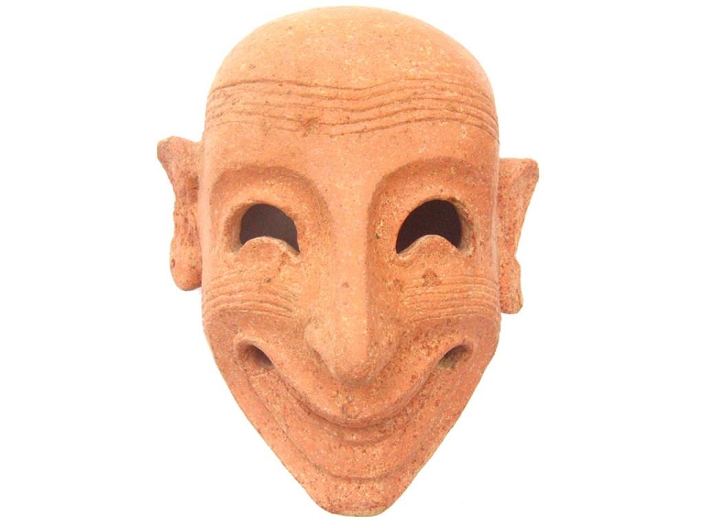 Maschera ghignante da Mozia, Carthago. Il mito immortale in mostra al Colosseo