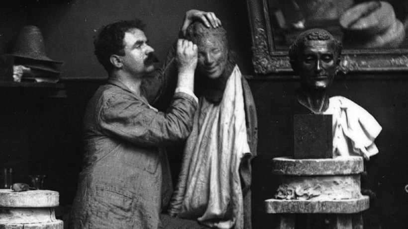 Medardo Rosso nello studio di boulevard des Batignolles, Medardo Rosso in mostra a Palazzo Altemps