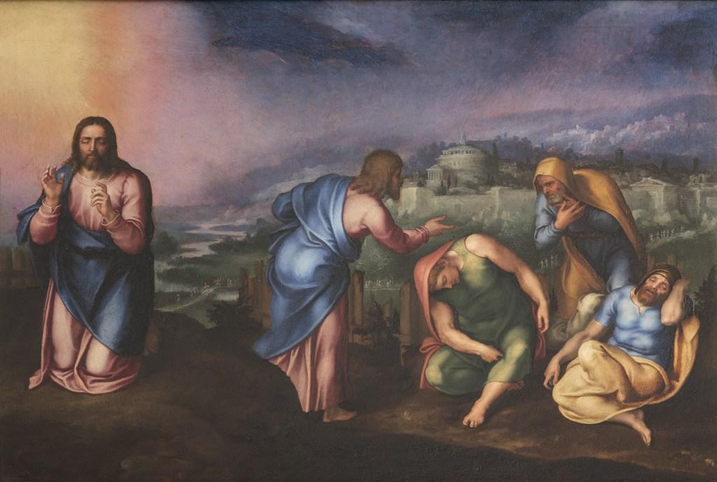Marcello Venusti L'Orazione nell'orto, Palazzo Barberini mostra Michelangelo a colori