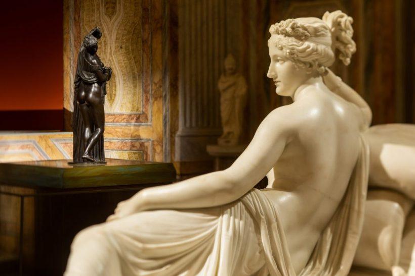 Venere Callipigia, Valadier splendore nella Roma del Settecento alla Galleria Borgese