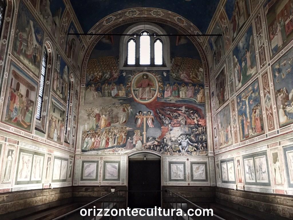 Cappella degli Scrovegni, itinerario weekend Padova cosa vedere