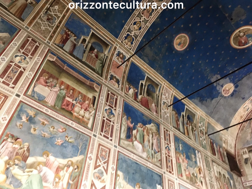 Dettaglio Cappella degli Scrovegni, itinerario weekend Padova cosa vedere