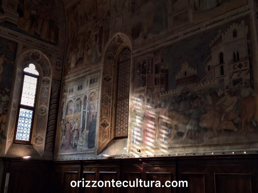 Oratorio di San Giorgio, dettaglio, itinerario weekend Padova cosa vedere