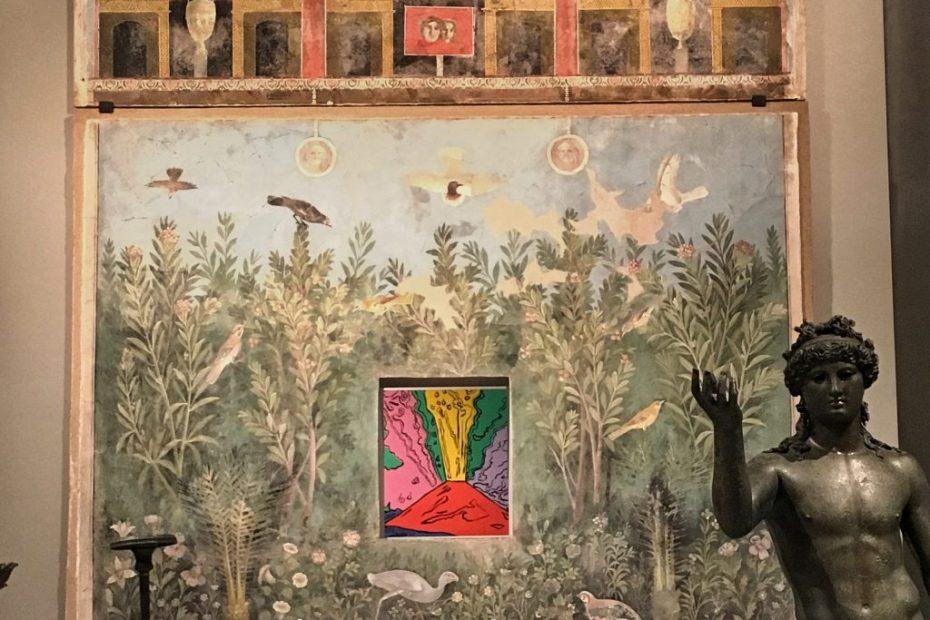Casa del Bracciale d'Oro ed Andy Warhol, Pompei Santorini Scuderie del Quirinale