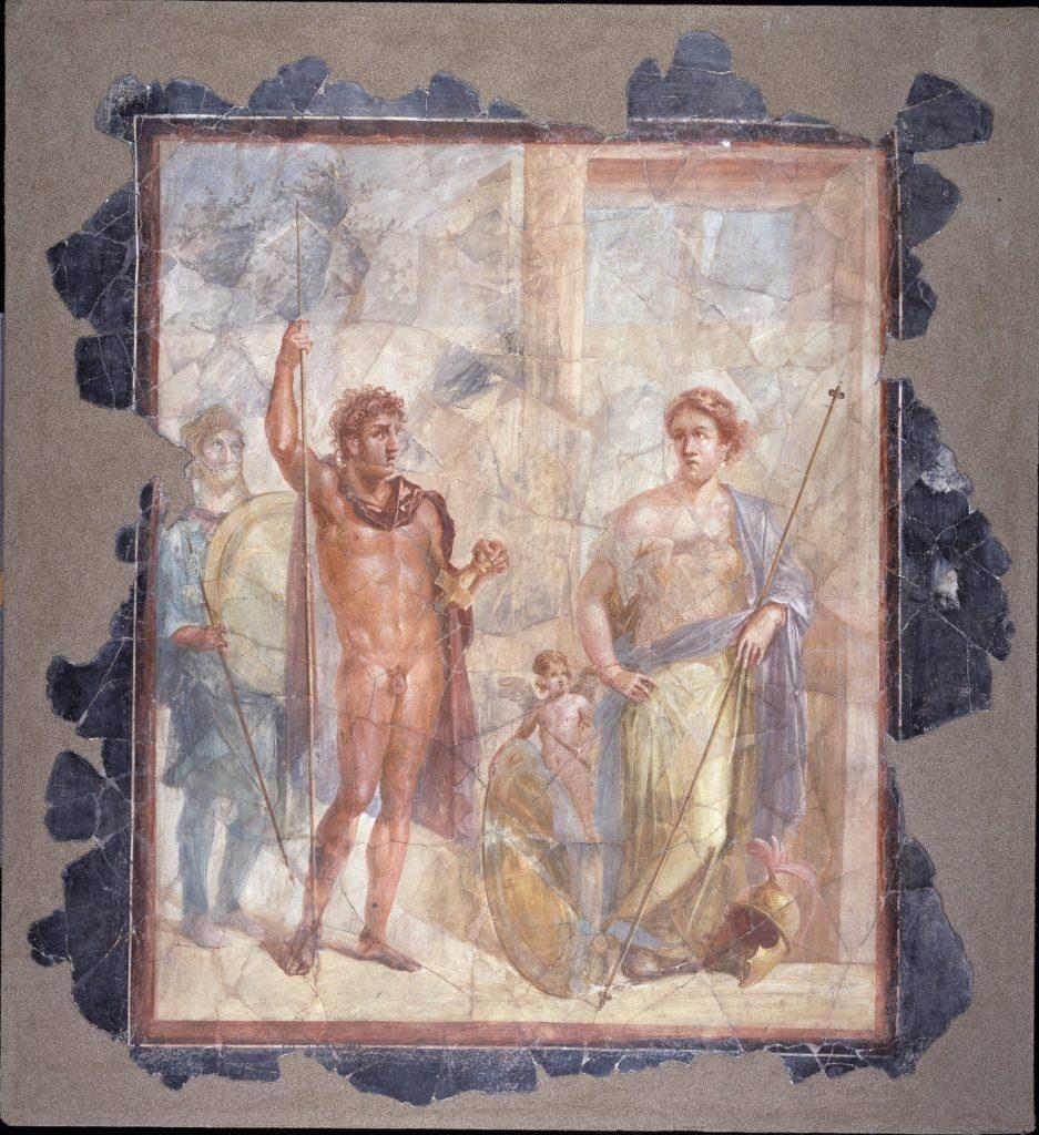 Le nozze di Alessandro e Rossane o di Marte e Venere, Pompei, Pompei Santorini Scuderie del Quirinale