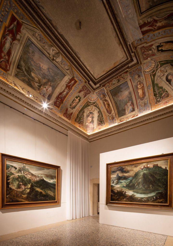 Sala Paesaggi ala nord Palazzo Barberini, capolavori Seicento nuovo allestimento