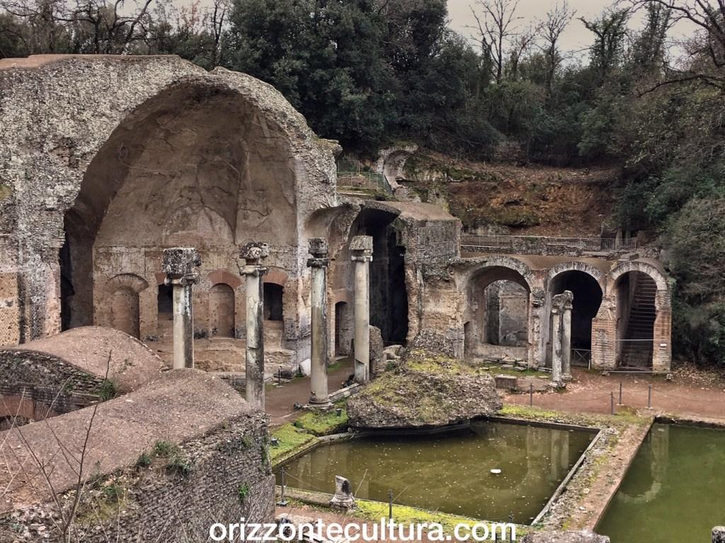 Tempio di Serapide, Villa Adiana, Villa Adriana a Tivoli la dimora di Adriano Patrimonio Unesco