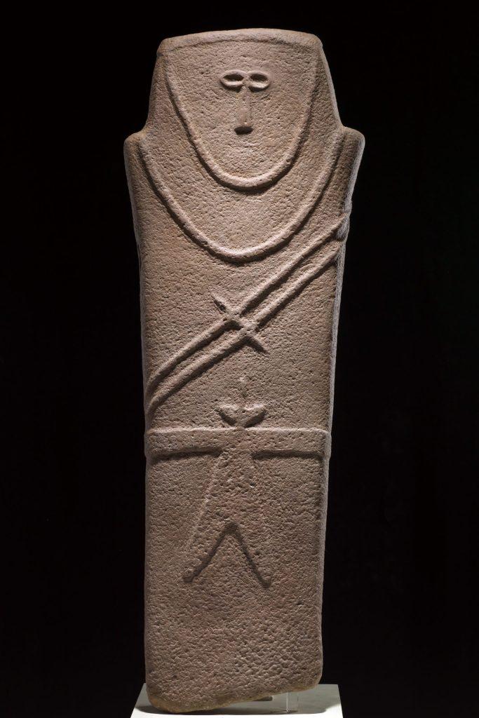 statua stele rilievo IV millennio, terme di Diocleziano Roads of Arabia
