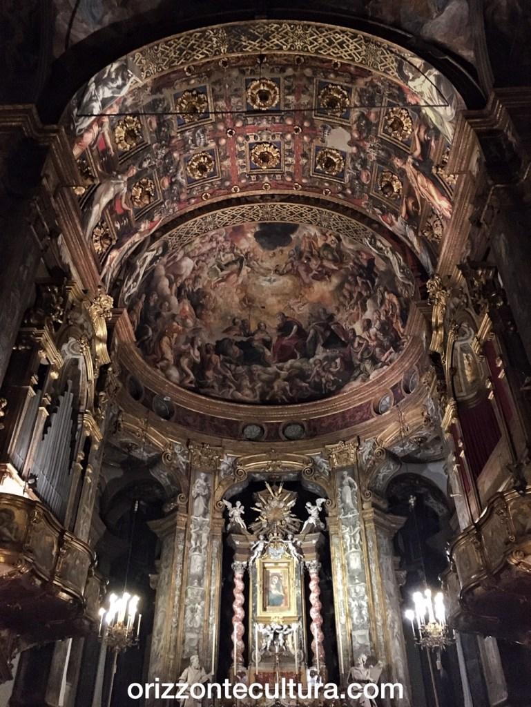 Basilica di Santa Maria della Steccata, Parma, interno