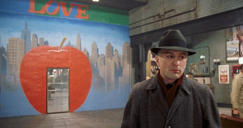 Uno fotogramma da C'era una volta in America, C'era una volta Sergio Leone, la mostra all'Ara Pacis