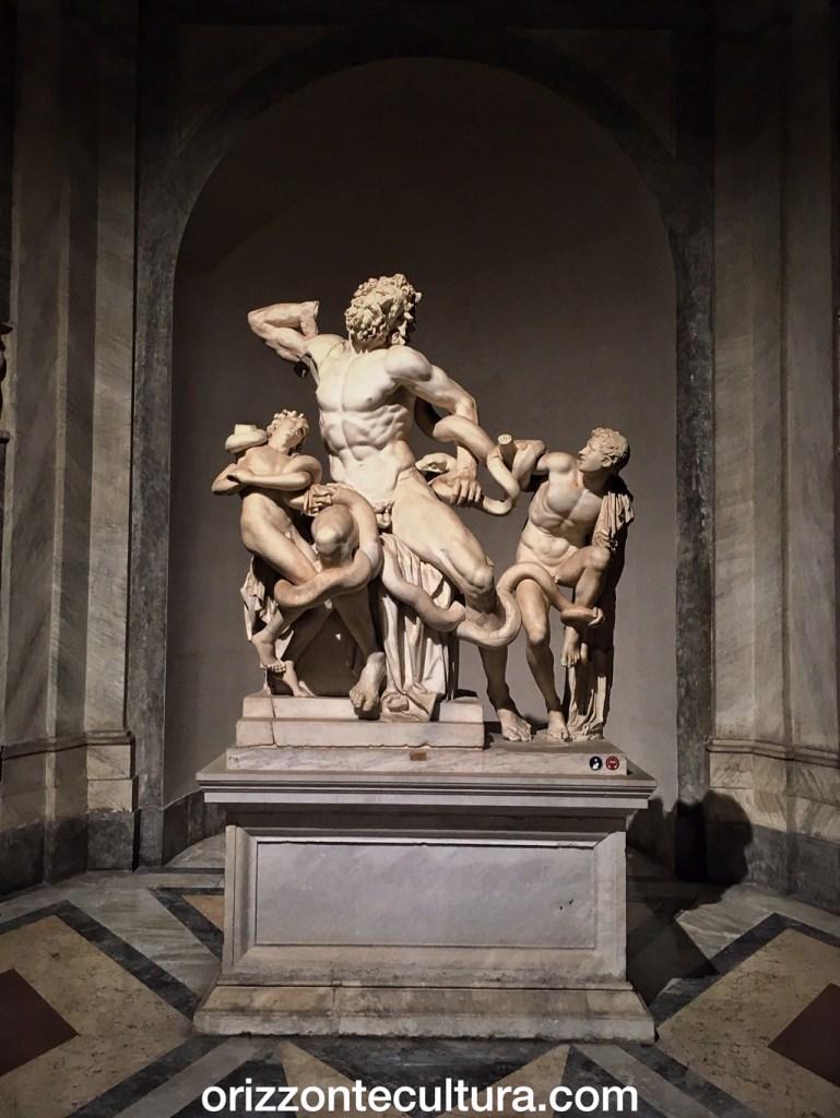 Gruppo scultoreo del Laocoonte, Musei Vaticani, Studi sul Settecento Romano l'omaggio a Winckelmann
