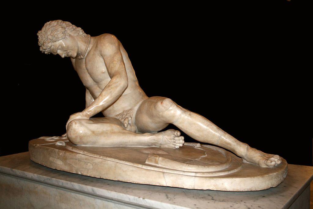 Statua del Galata morente, Musei Capitolini