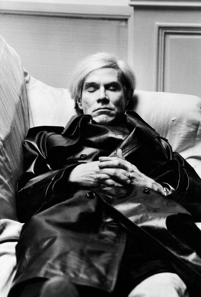 Helmut Newton, Andy Warhol Vogue Uomo Paris 1974, Hermut Newton Works GAM Torino scatti mostra