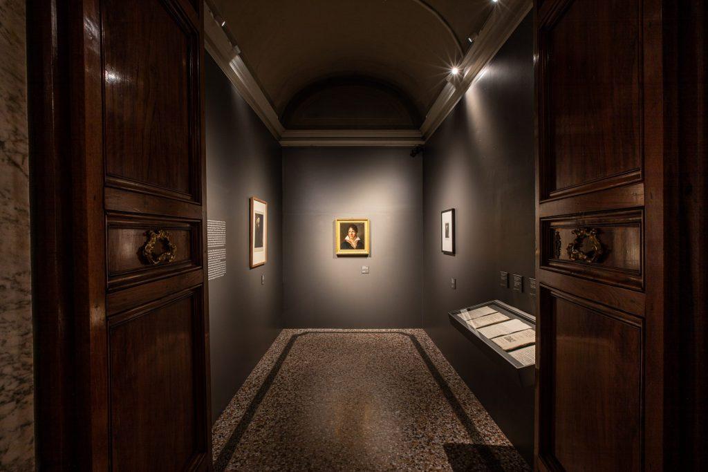 Pietro Benvenuti, Ritratto di Tommaso Corsini, autoritratto Rembrandt mostra Galleria Corsini
