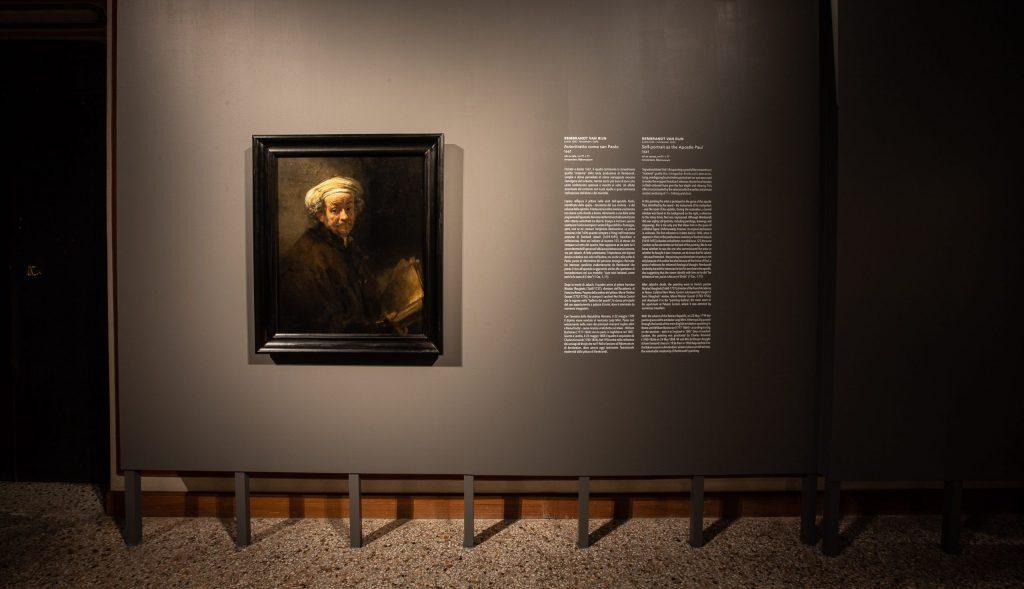 Rembrandt alla Galleria Corsini, l'Autoritratto come san Paolo