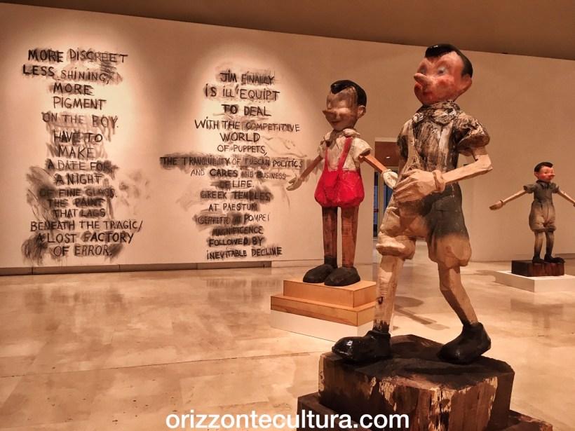 Jim Dine la mostra al Palazzo delle Esposizioni