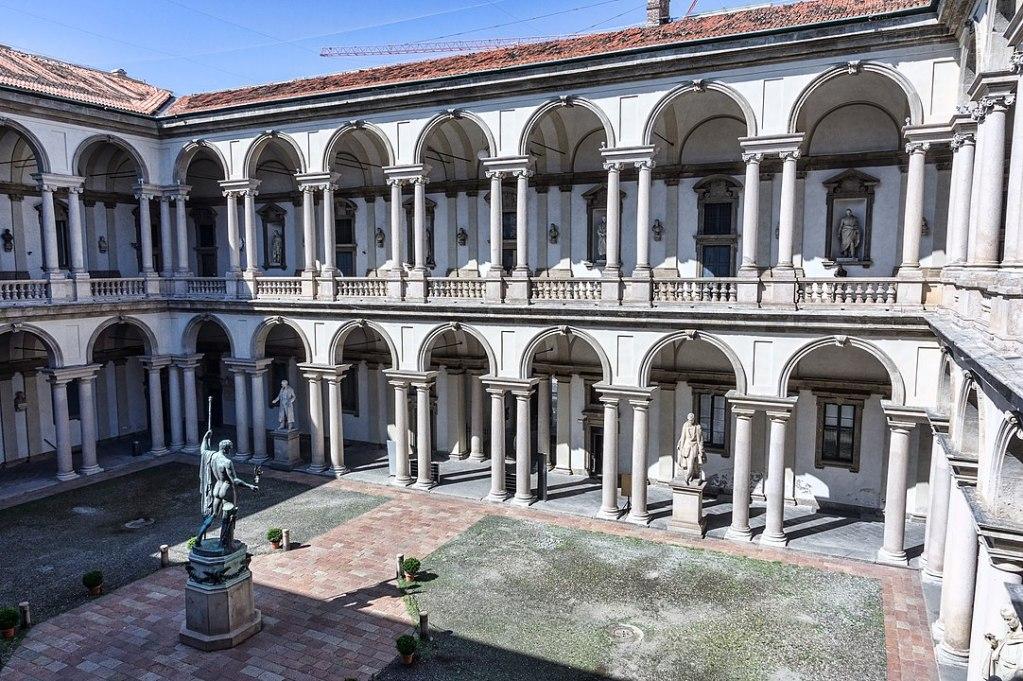 La Pinacoteca di Brera a Milano, 10 musei italiani vedere da casa