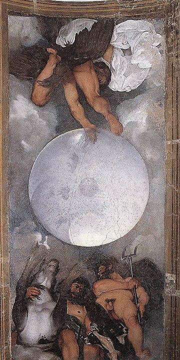 Caravaggio, Giove, Nettuno e Plutone, Casino di Villa Ludovisi