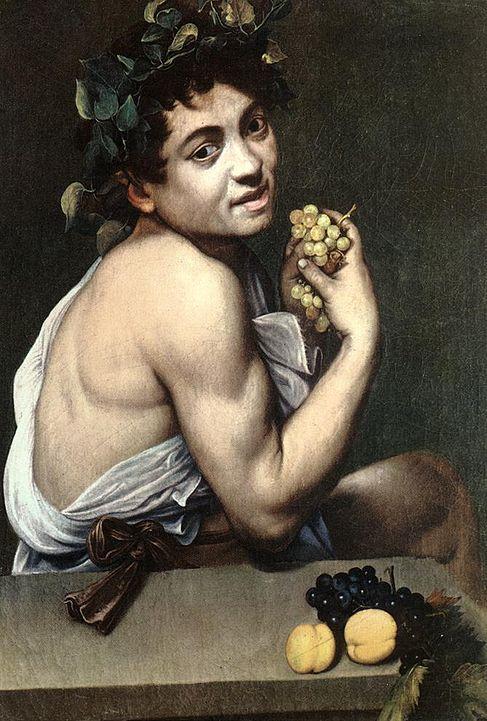 Caravaggio, Bacchino Malato, Galleria Borghese