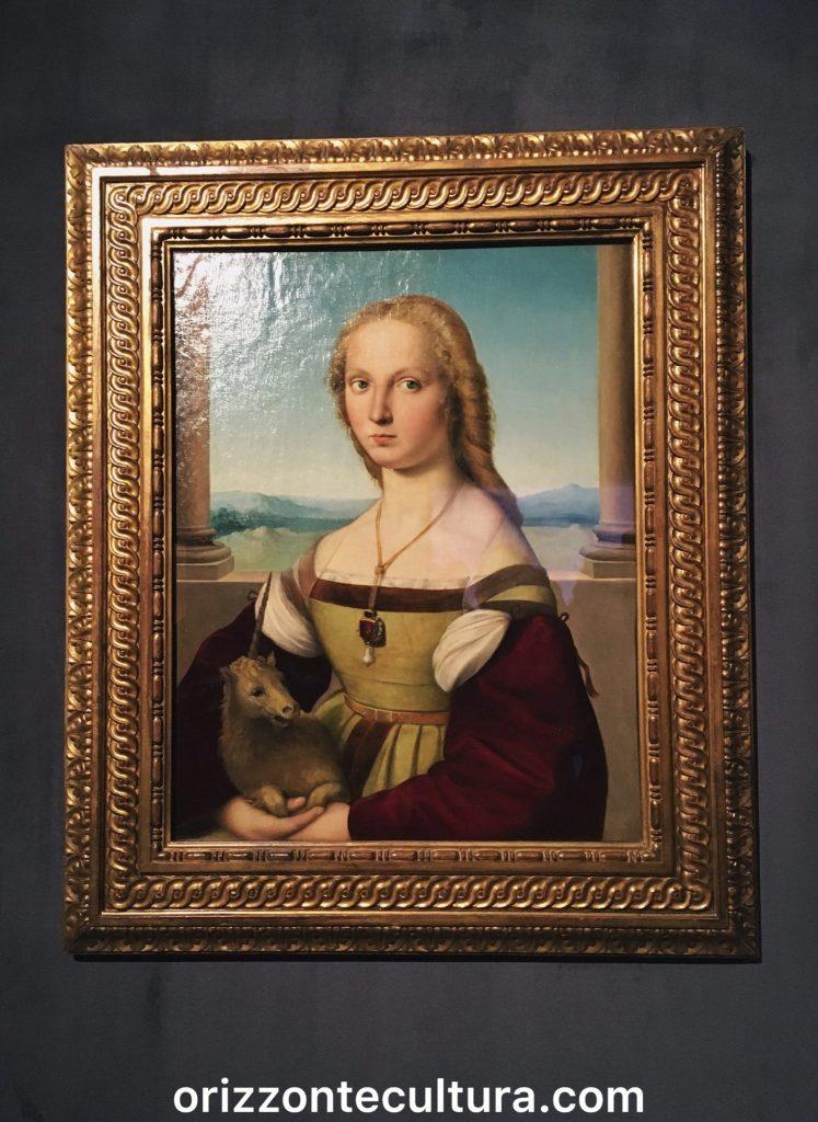 Raffaello, Dama col liocorno, Roma, mostra Raffaello Scuderie Quirinale