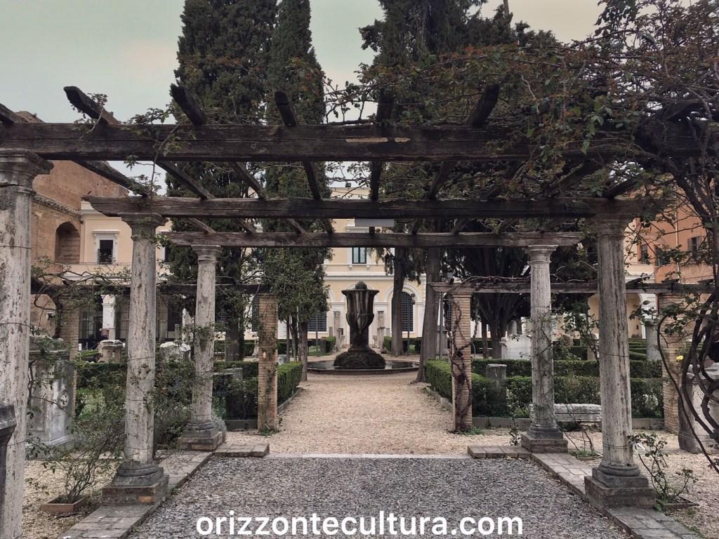 Il giardino del Cinquecento delle Terme di Diocleziano Roma