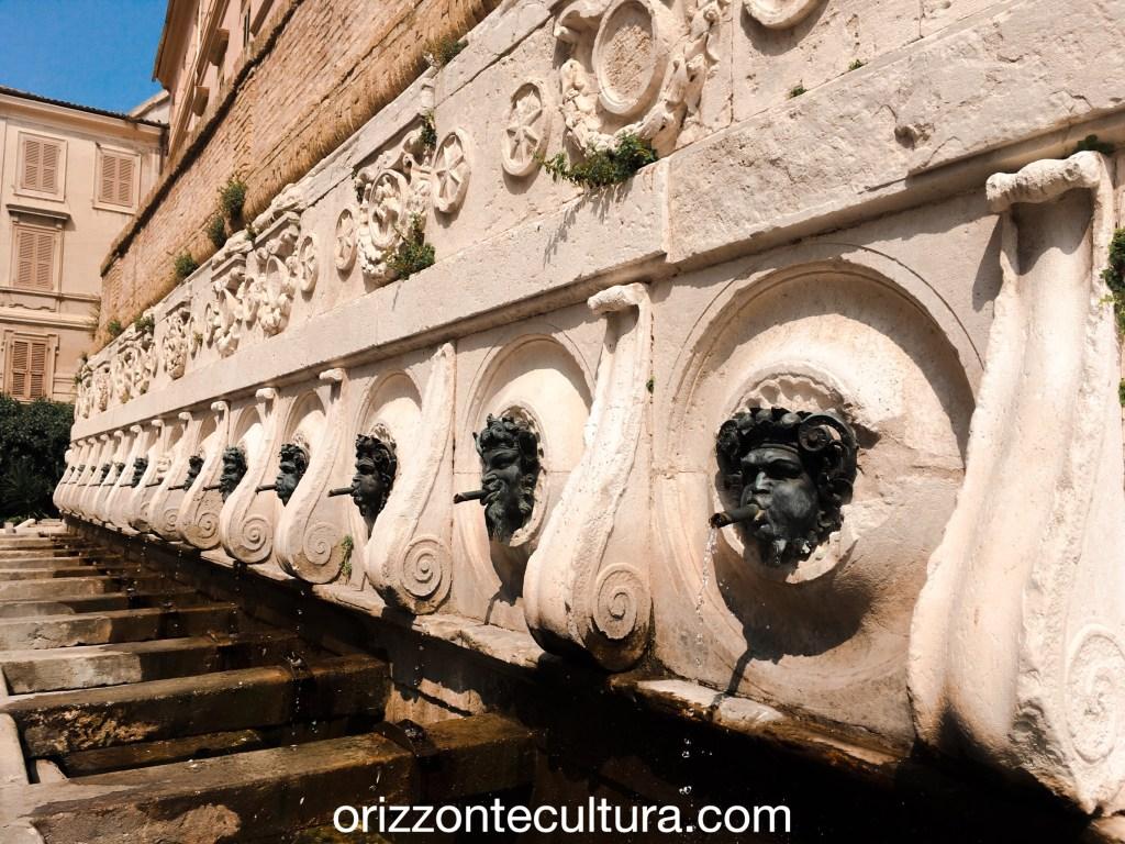 Fontana del Calamo Ancona, cosa visitare Ancona itinerario