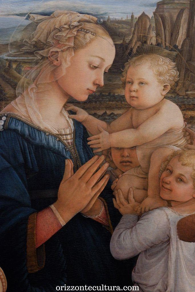 Filippo Lippi, Madonna col Bambino e due angeli