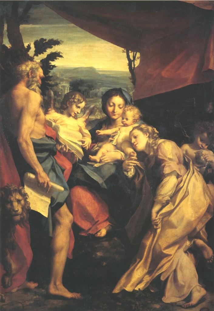 Correggio, Madonna di San Girolamo, agenda mostre autunno 2020