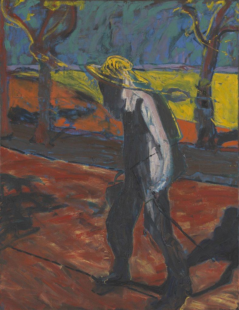 Francis Bacon, Studio per un ritratto di Van Gogh IV