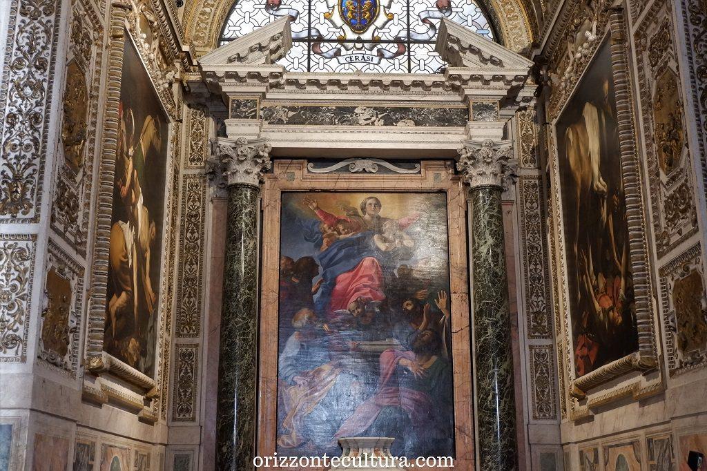 Basilica di Santa Maria del Popolo, Cappella Cerasi, Roma