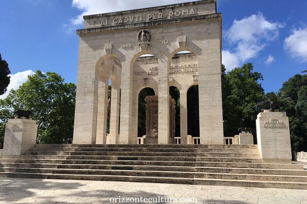 Mausoleo Ossario Gianicolense, Gianicolo cosa vedere