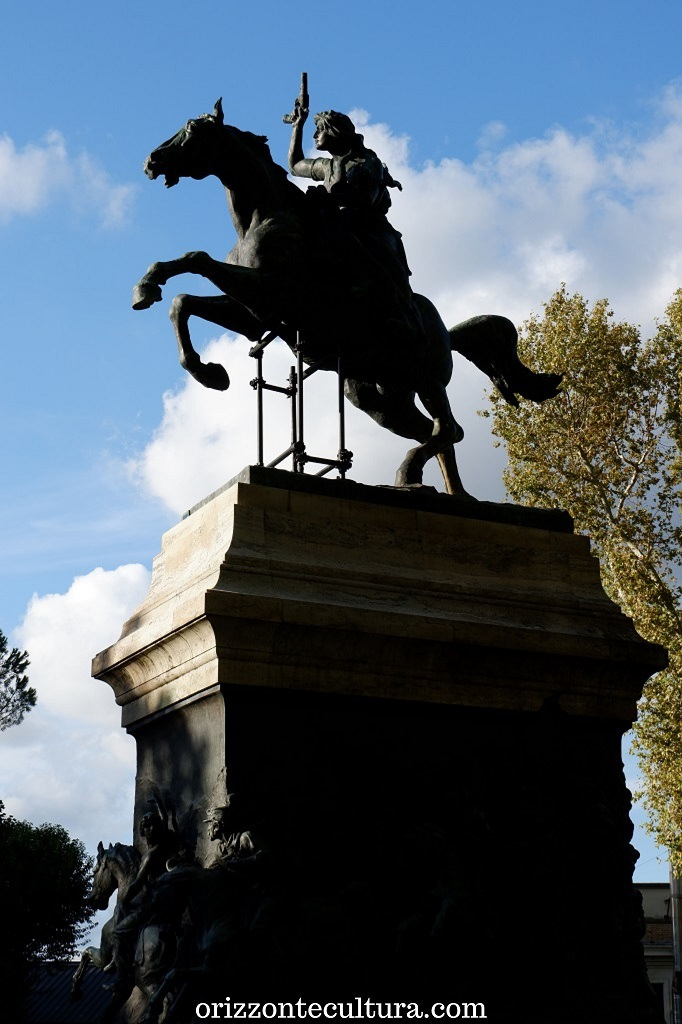 Monumento ad Anita Garibaldi, Gianicolo cosa vedere
