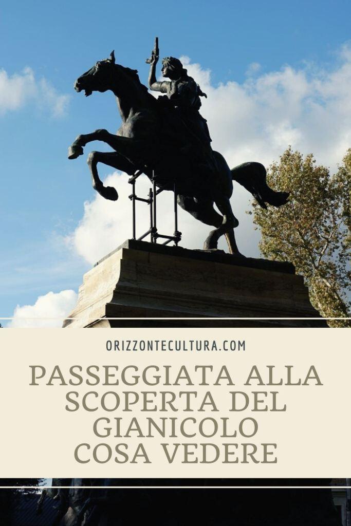 Passeggiata alla scoperta del Gianicolo, cosa vedere - Pinterest (3)