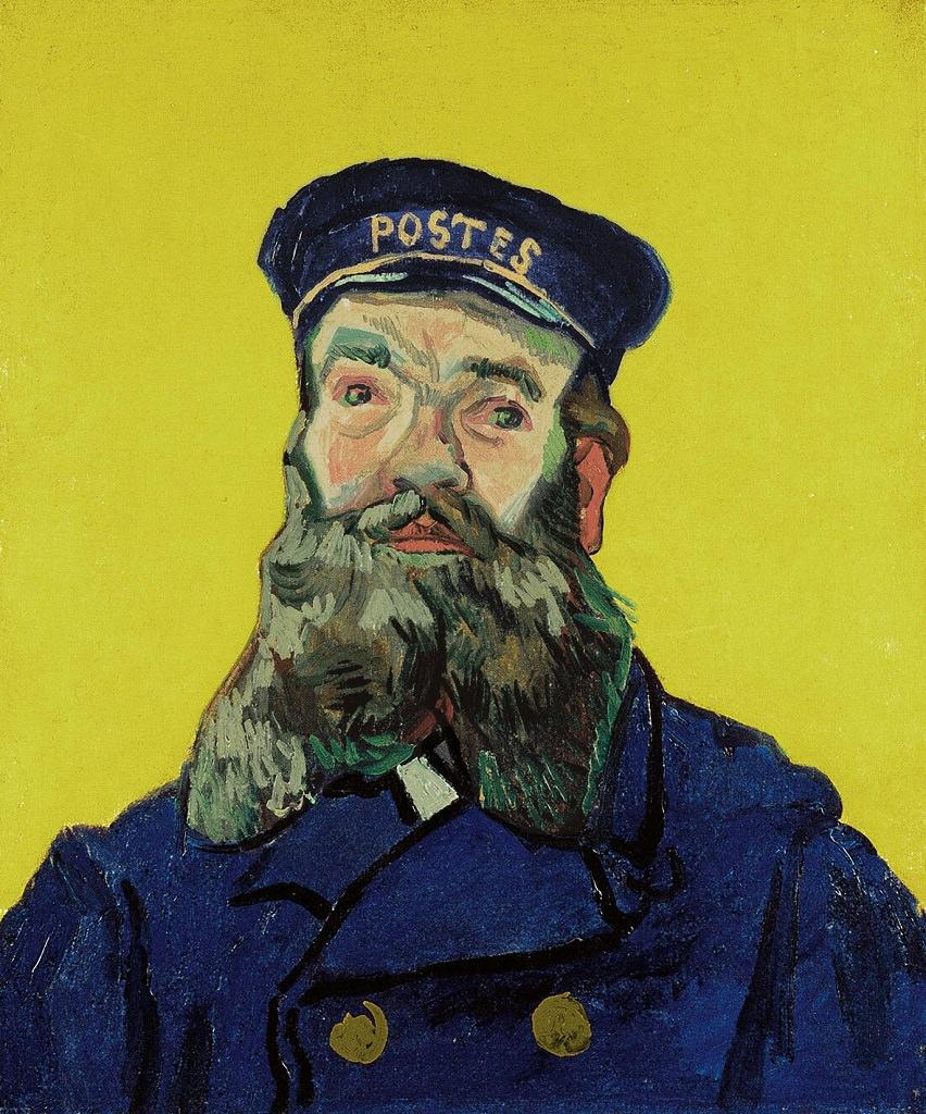 Vincent Van Gogh, Ritratto di Joseph Roulin, Vincent Van Gogh mostra Padova