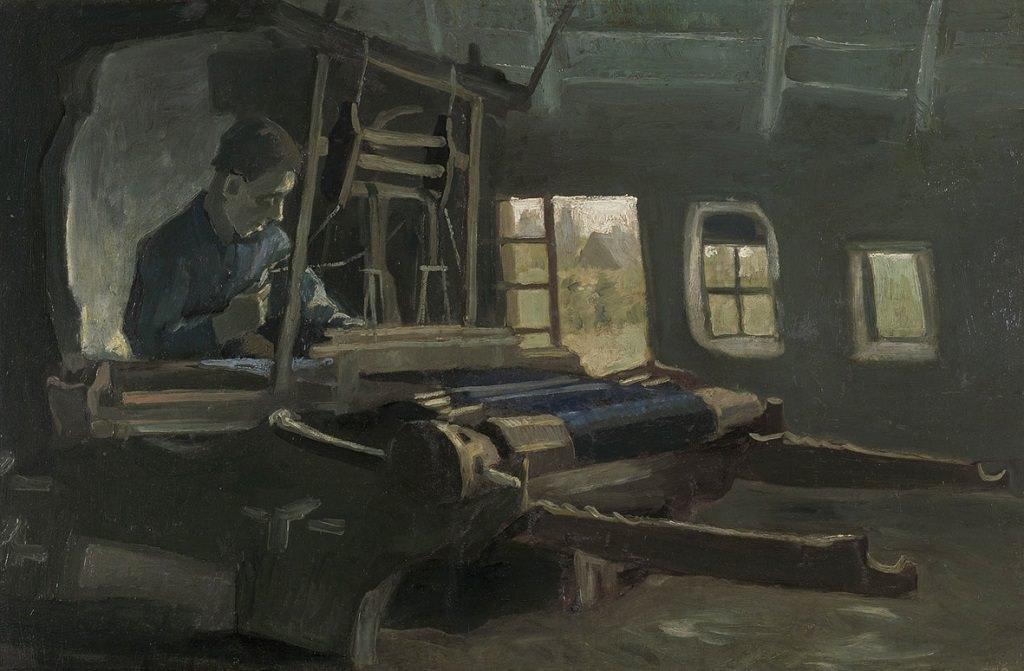 Vincent Van Gogh, Tessitore al telaio